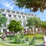 Không gian kiến trúc xanh tại Vinhomes Riverside Hải Phòng