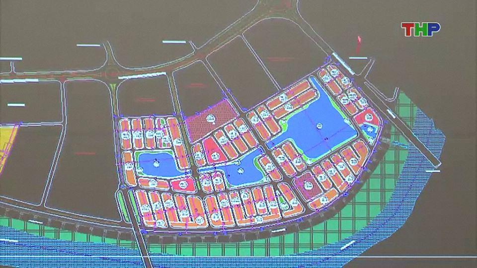 Bảng đồ quy hoạch dự án Vinhomes Cầu Rào Hải Phòng
