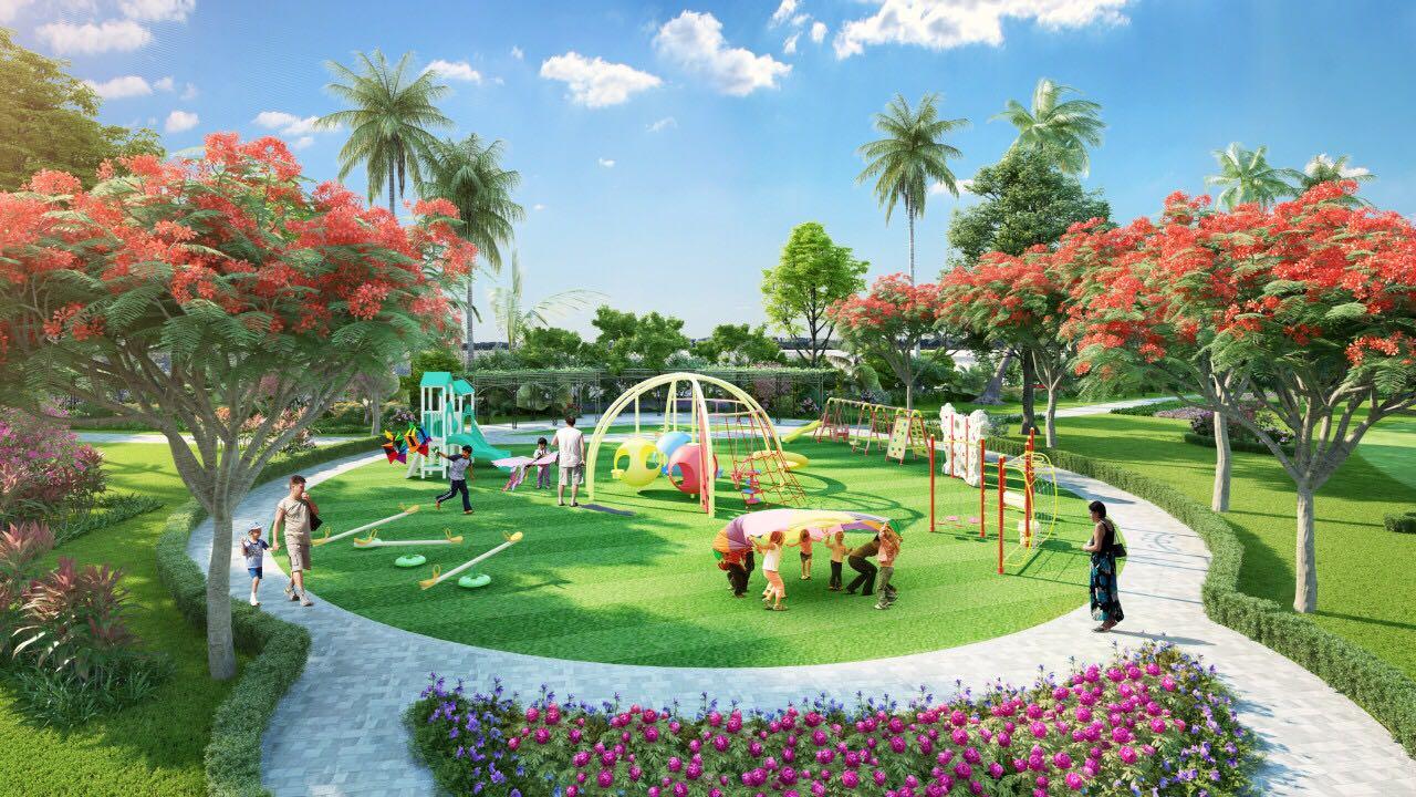 công viên trẻ em vinhomes cầu rào
