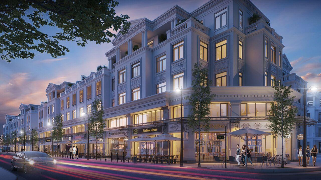 Shophouse dự án Nam Long Hải Phòng